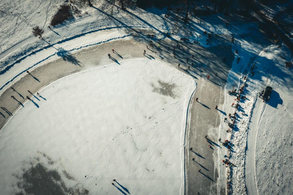 de hoge veluwe sneeuw